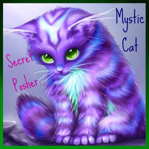 ⭐ Mystic Cat ⭐ Secret Posher Follow game